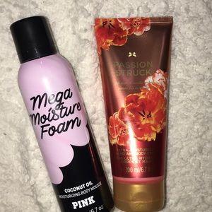 Victoria's Secret-Passion Struck//Pink-Body Mousse